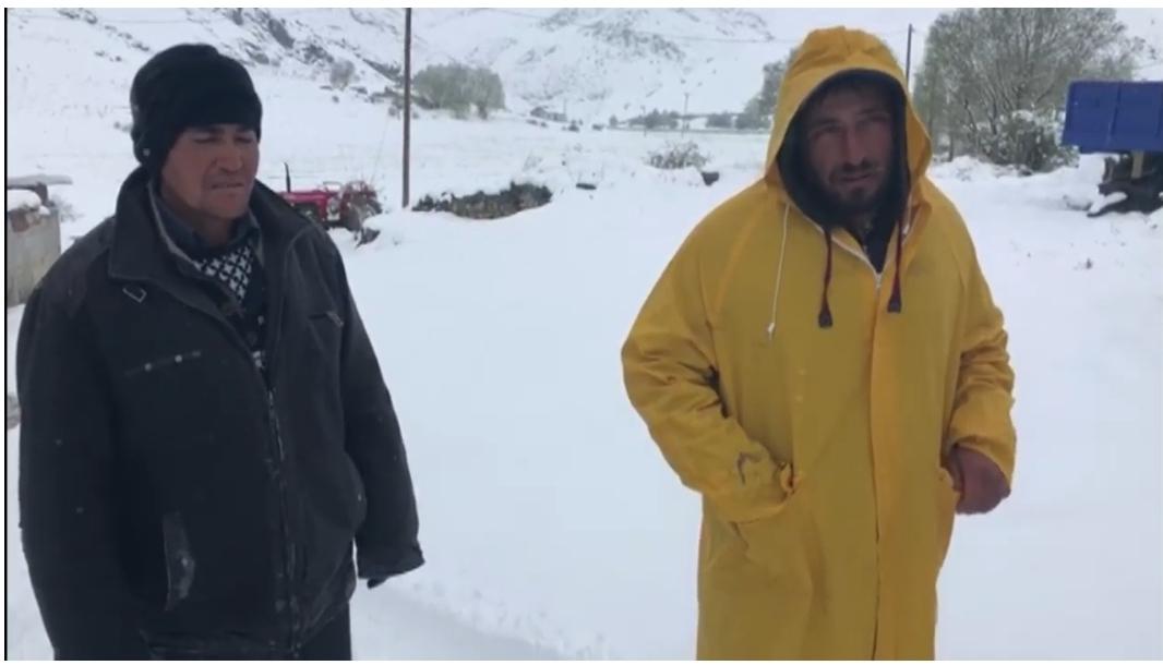 Karda Mahsur Kalan Çoban Kurtarıldı