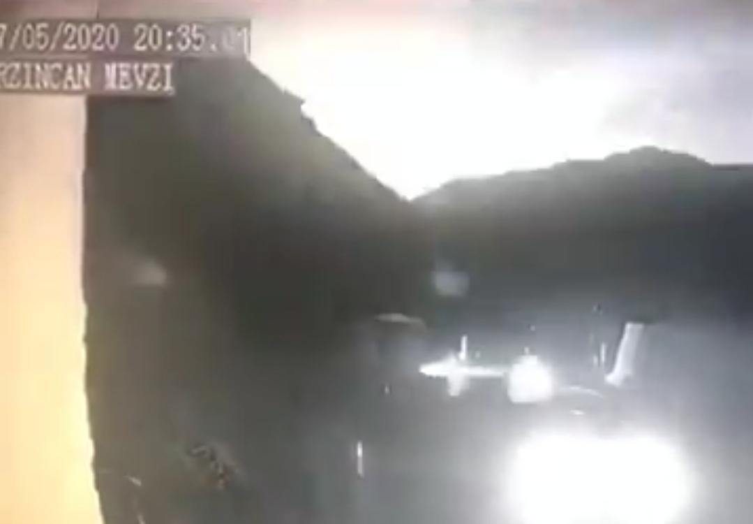 Erzincan'a Göktaşı Düştü