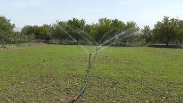Erzincan'da 420 Bin Dekar Arazi Sulanmaya Başladı