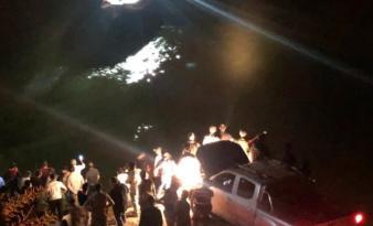 Kemaliye'de Araç Fırat'a Uçtu 4 Ölü