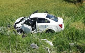 Erzincan'da kaza 2si ağır 8 yaralı