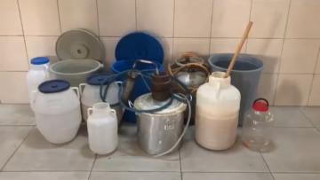 Üzümlü'de Sahte İçki Operasyonu