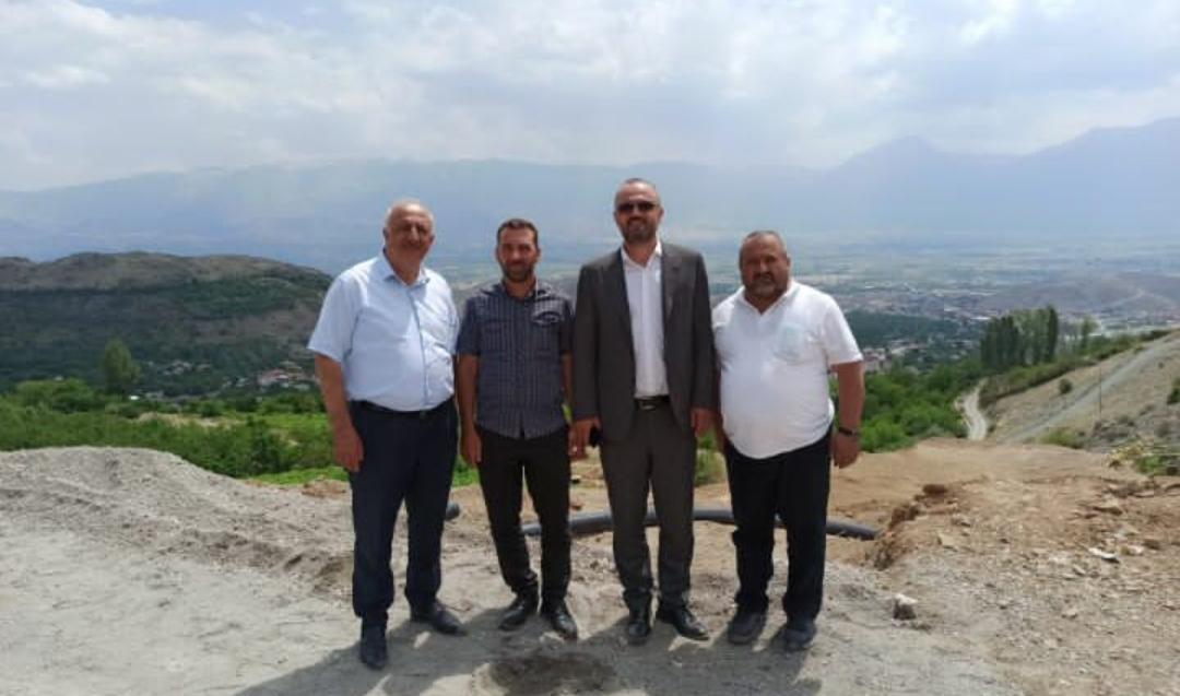 Erzincan'a Gelen Genel Müdür Kuruma Değil Kiraz Yemeye Gitti