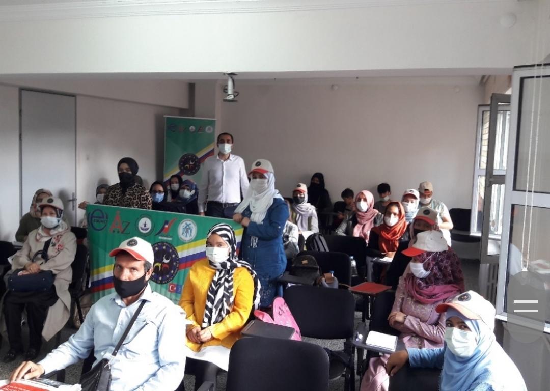 Mültecilere E-girişimcilik kursu