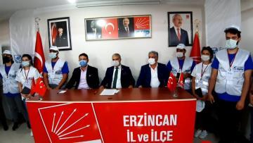 Beşiktaş Belediye Başkanı Erzincan'da