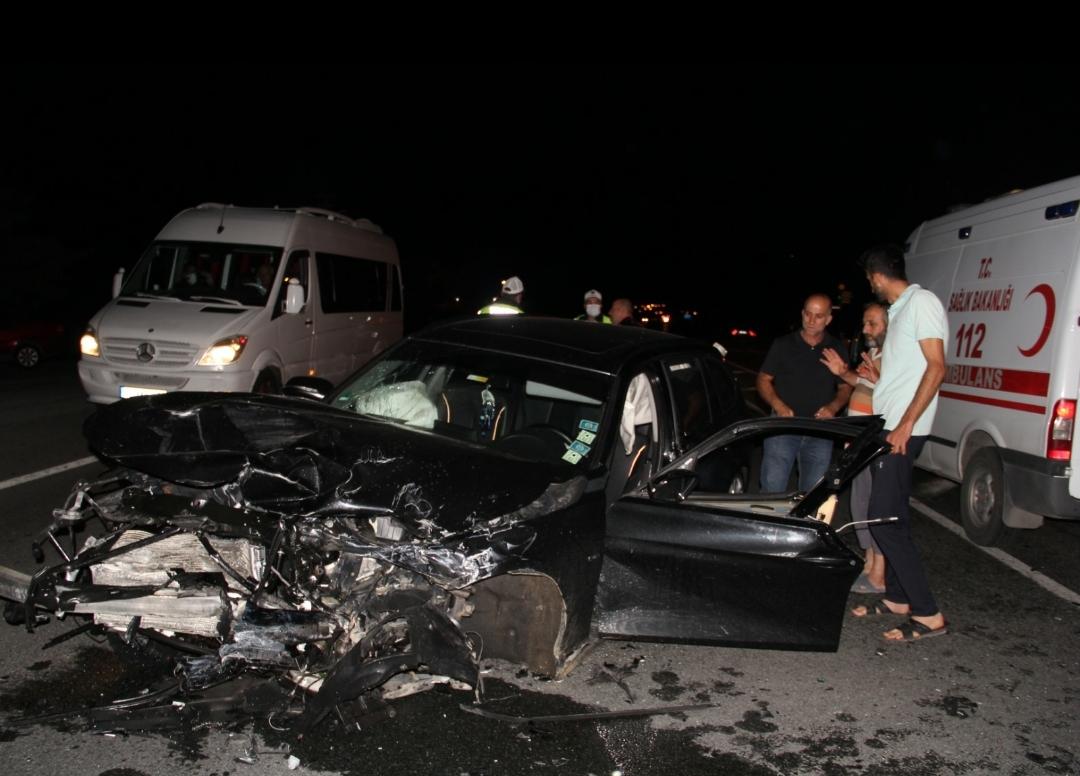 Erzincan'da Kaza 1 bebek ölürken 7 kişi Yaralandı